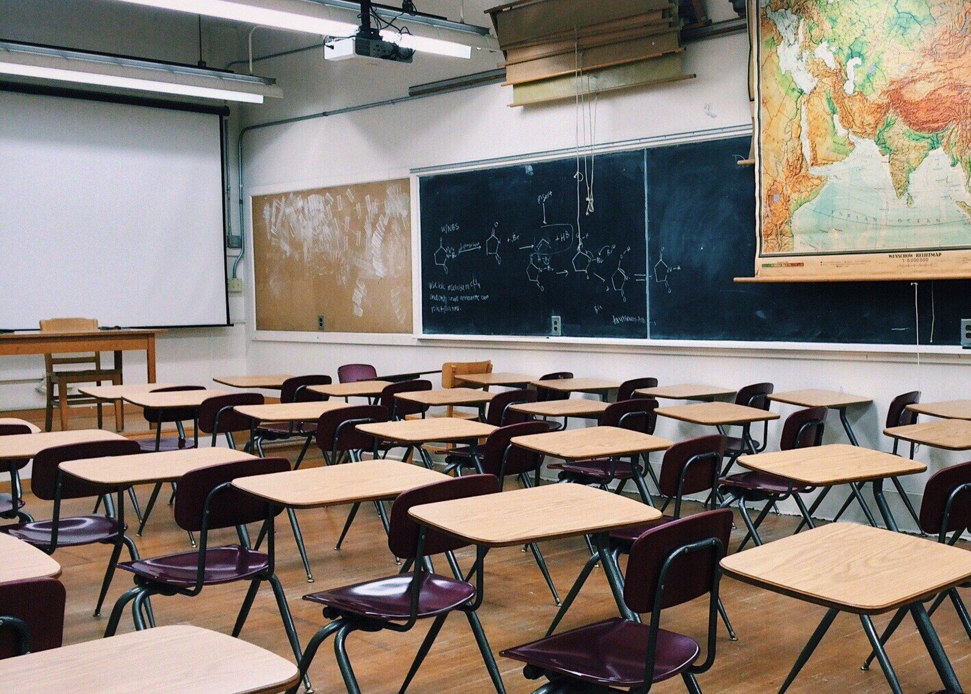 Digitale Schule wegen leeren Klassenzimmern